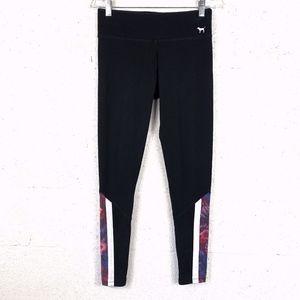 PINK Victoria's Secret Yoga Sz S Black Leggings